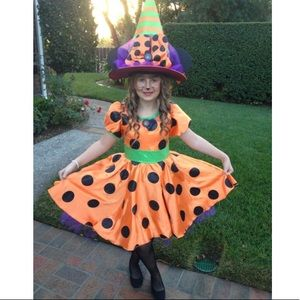 Minnie Mouse Witch Costume